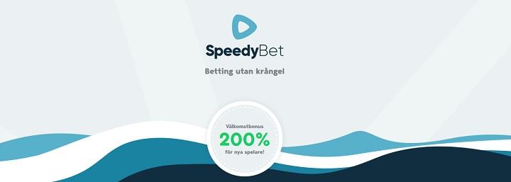 Ny oddsbonus hos Speedy Bet
