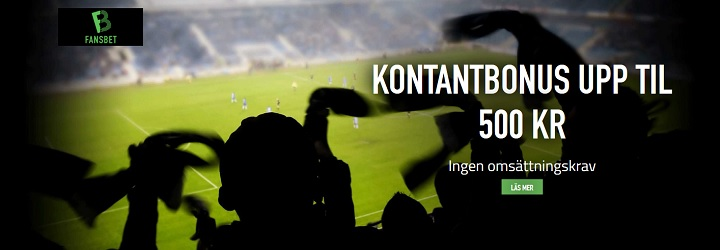 Nytt svenskt spelbolag med bra bonus Fansbet